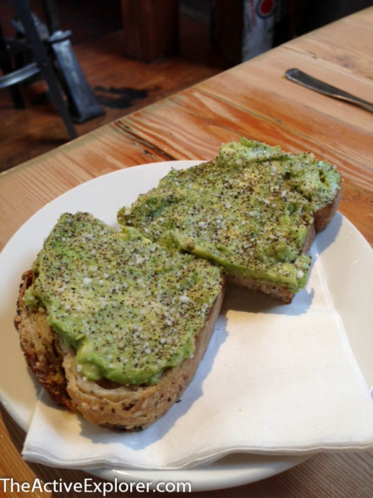 The Rose Estb Avocado Toast