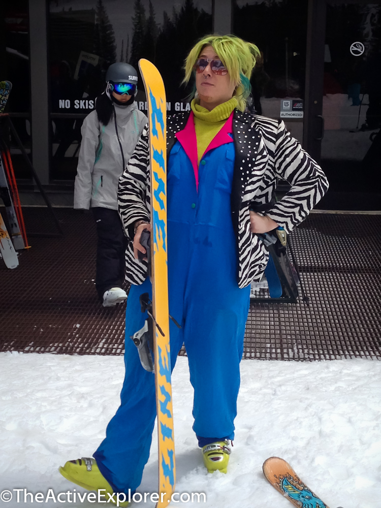 Clown Costume at Brighton Resort's Closing Day