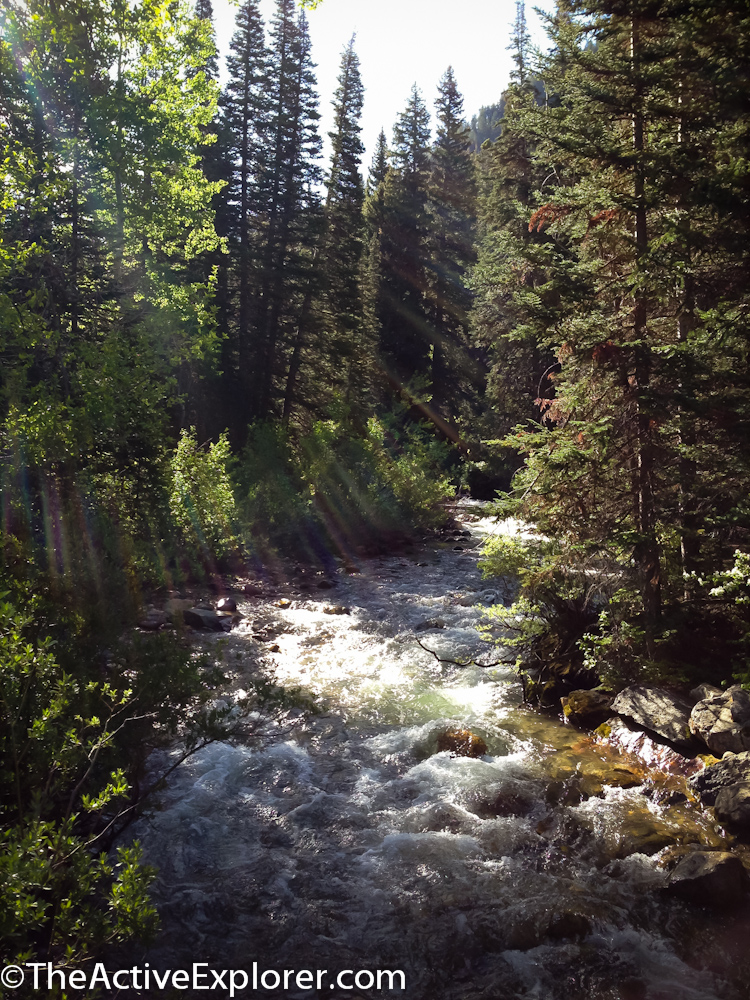 River near the White Pine Trailhead