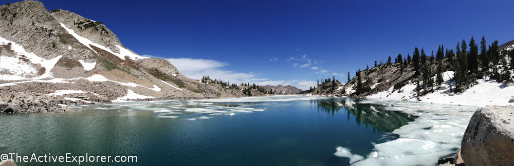White Pine Lake Panorama