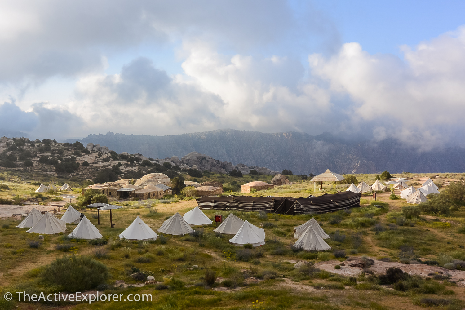 Tents of Rummana Camp, Jordan